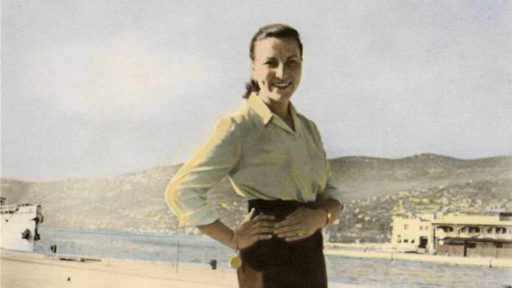 Giulia Mettauer-Coronet im Alter von 25 Jahren in Triest.