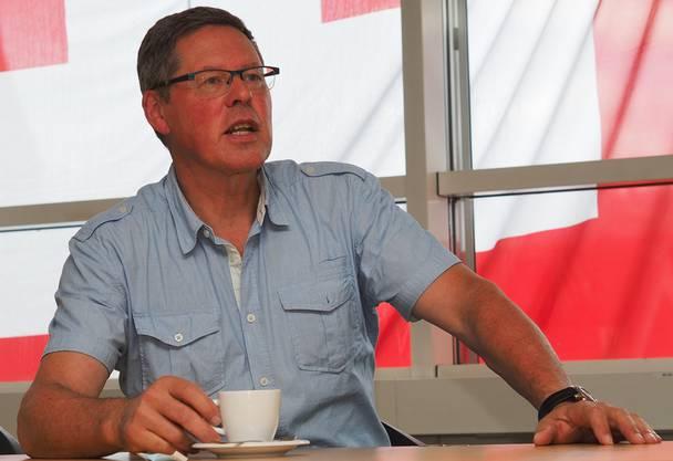 Pius Müller, FDP-Ortspräsident,Präsident der Theresien-Stiftung und Wortführer der Kritiker