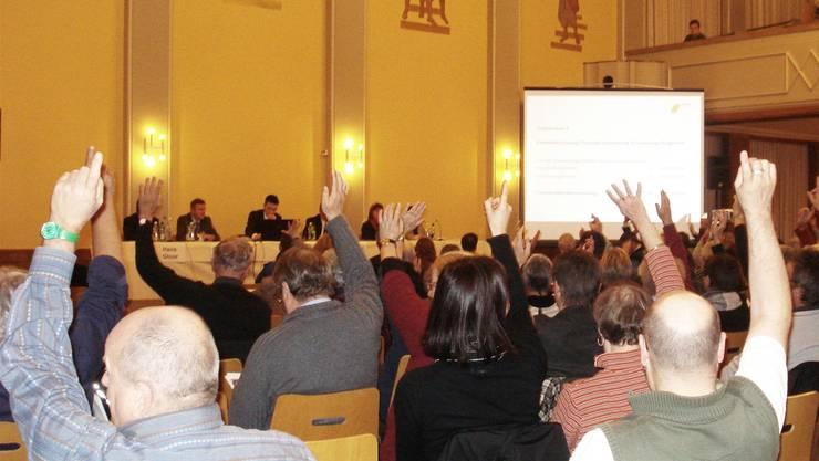 Geht es nach dem Willen der FDP, soll in Rheinfelden auch in Zukunft die Gemeindeversammlung über Sachgeschäfte entscheiden. archiv