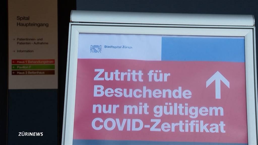 Neue Besucherregelung im Stadtspital Triemli
