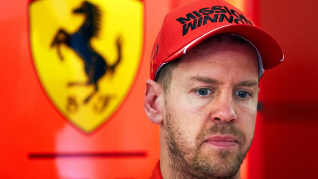 Vettel zurück im Ferrari - Test in Mugello vor Formel-1-Saisonstart