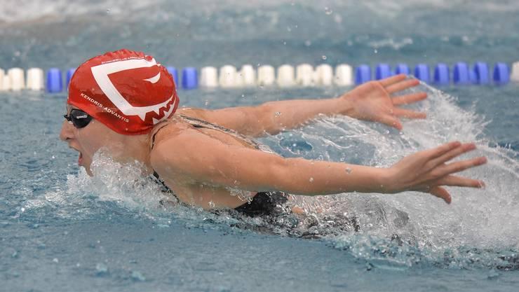 Sportvereine wie der SC Aarefisch (im Bild Jill Huber) sind auf 50-Meter-Becken angewiesen. (Archiv)
