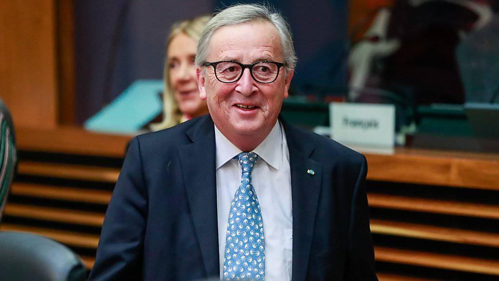 EU-Kommissionschef Jean-Claude Juncker hat den EU-Staaten eine «himmelschreiende Heuchelei» in der Diskussion um eine grössere europäische Grenzschutztruppe vorgeworfen. (Archivbild)