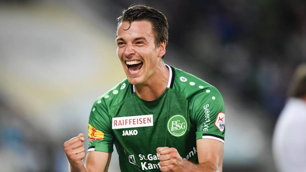 FC St.Gallen zeigt Reaktion nach Cup-Aus: 3:1 gegen Servette