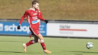 Chris Teichmann erzielte das 1:0 für den FC Baden.