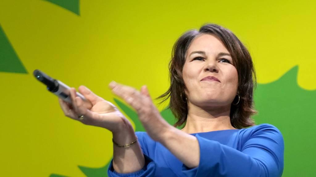 Grünen-Kanzlerkandidatin Baerbock lobt «historisch bestes Ergebnis»