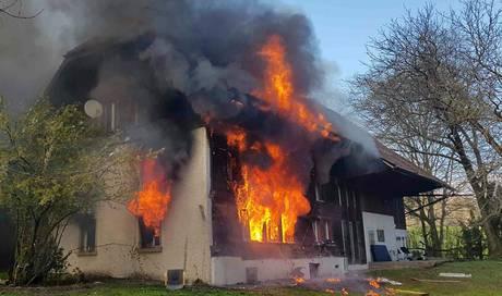 Nach Brand in Asylunterkunft in Oftringen AG: Bewohner festgenommen