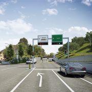 Wer nach Bad Zurzach will, muss links abbiegen.