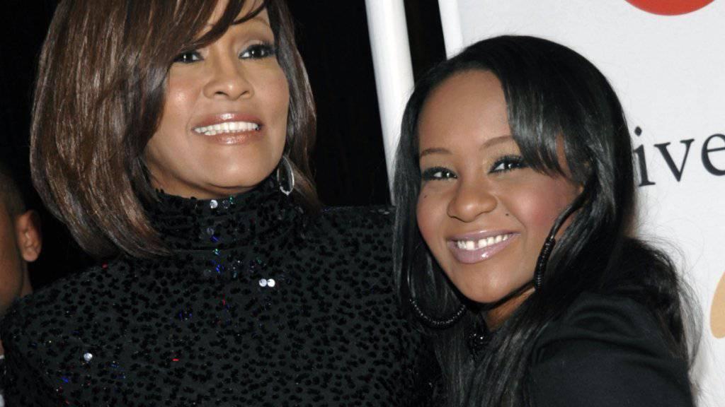 Ein Foto aus glücklichen Tagen: Whitney Houston und ihre Tochter Bobbi Kristina Brown. (Archiv)