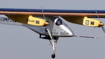 """""""Solar Impulse"""" ist wieder am Heimatflughafen eingetroffen"""
