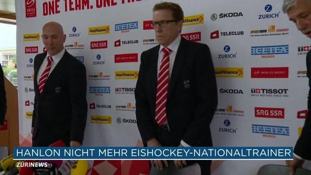 Hanlon nicht mehr Hockeycoach