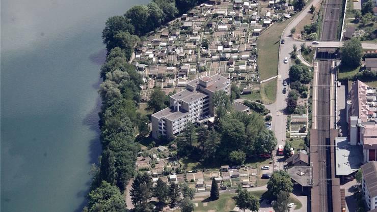 Luftbild der Gemeinde Neuenhof