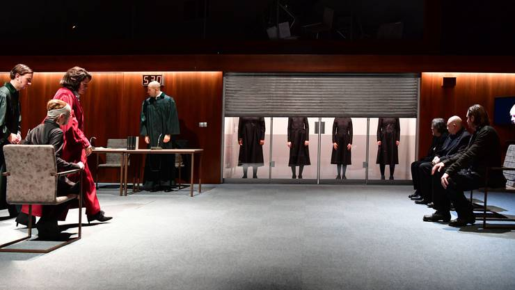 Auch die Inszenierung «Hexenjagd» war von den Ausfällen betroffen.