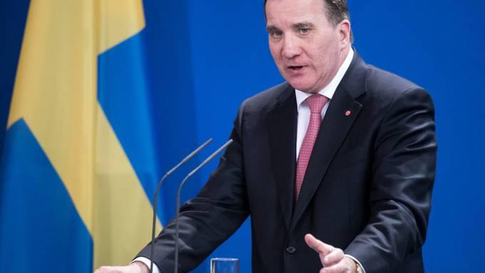 Stefan Löfven wird die Regierung kommissarisch weiter führen, bis die Koalitionsverhandlungen erfolgreich abgeschlossen sind. (Archivbild)