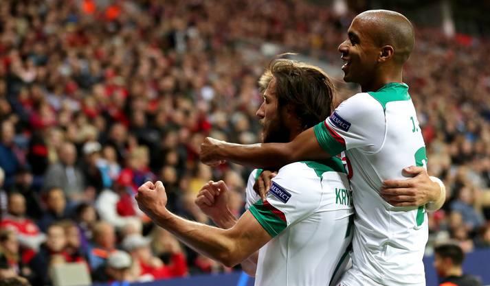 Premjer-Liga 2:1 Bundesliga - kurz vor der Pause gelingt Lokomotive Moskau der erneute Führungstreffer gegen Leverkusen.