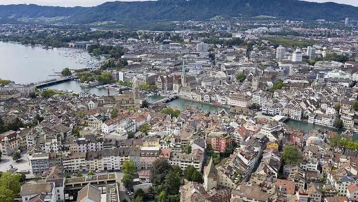 Bronze für den Kanton Zürich: Nur in Basel-Stadt und Genf ist der Anteil an Siedlungsfläche grösser als in Zürich. (Symbolbild)