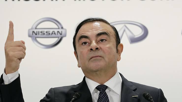 Renault findet keine Verstösse Ghosns bei der Bezahlung. (Archiv)