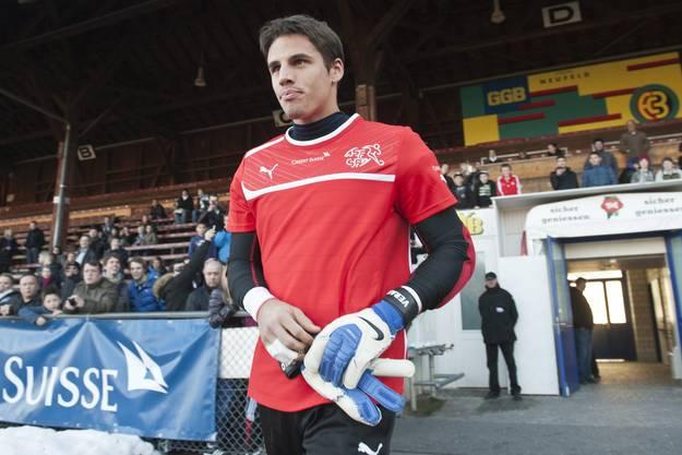 Diego Benaglio bleibt für Natitrainer Hitzfeld die unbestrittene Nummer eins.