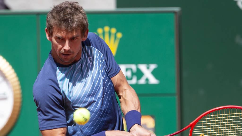 Henri Laaksonen muss sich in der 3. Runde der French Open einer Verletzung geschlagen geben. (Archivbild)
