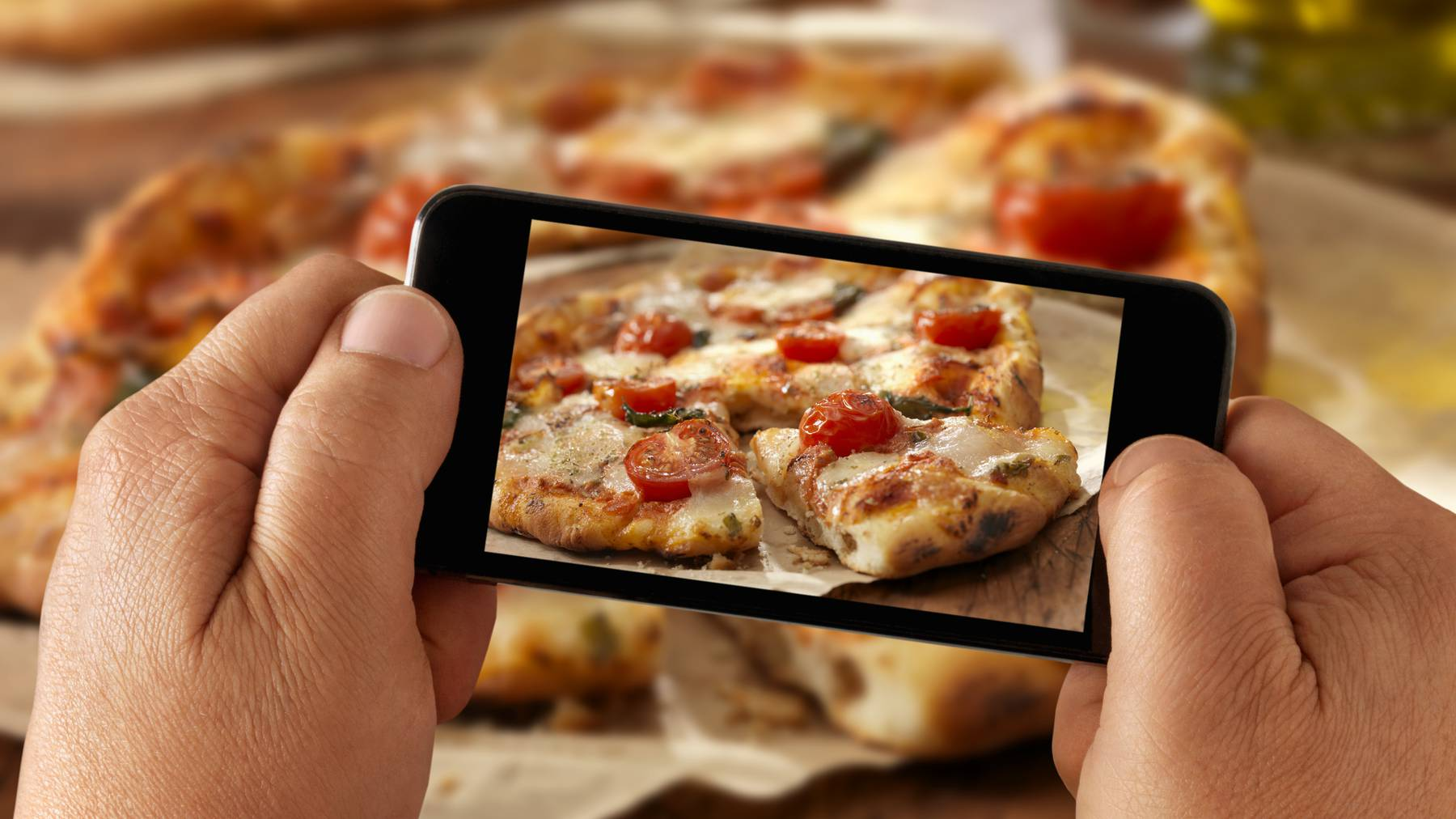 Kein Lebensmittel wird auf Instagram so häufig gepostet wie Pizza.