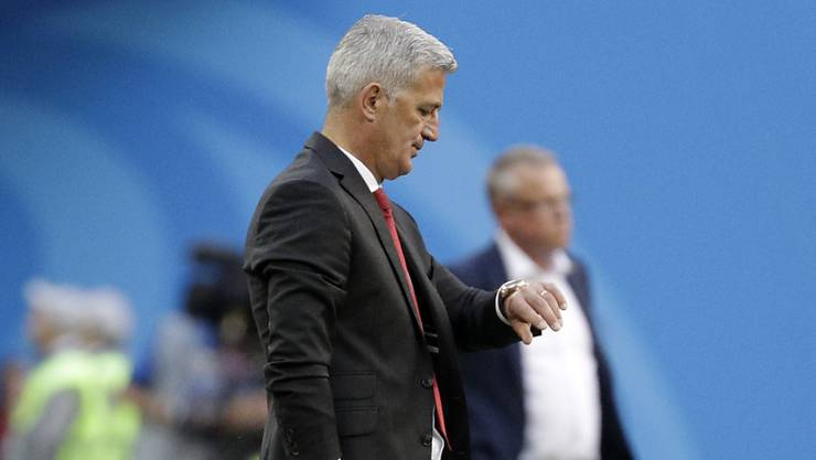 Läuft die Zeit von Nationalcoach Vladimir Petkovic bald aus?