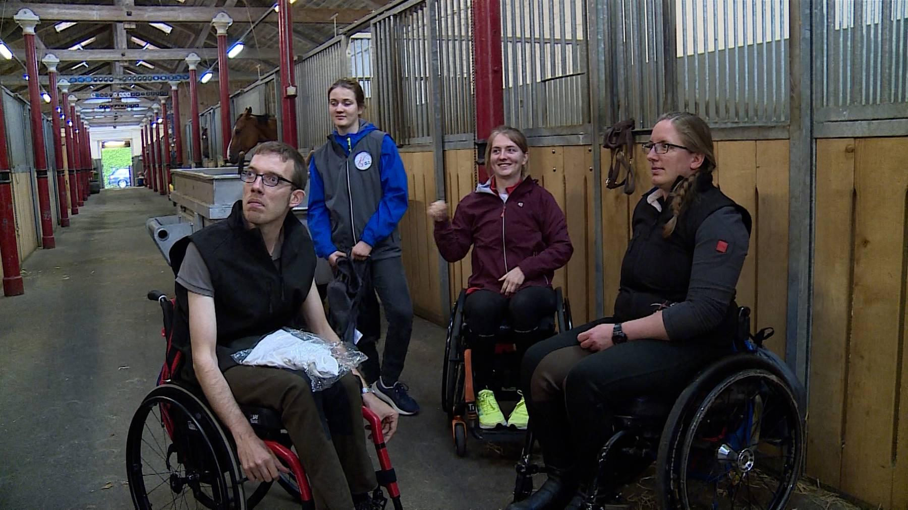 Vom Rollstuhl aufs Pferd