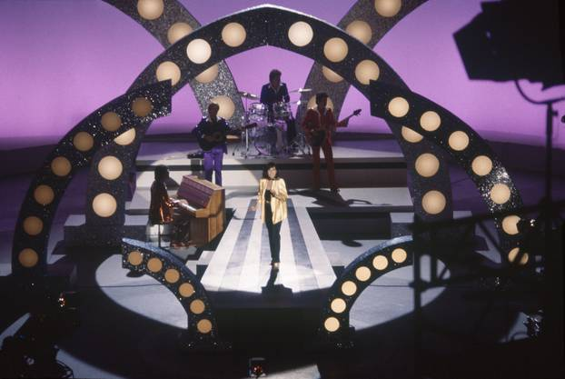 "1978 mit Paola Felix in ""Musik ist Trumpf"""