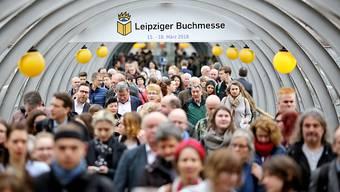 Auf der Leipziger Buchmesse wurde es dieses Jahr ganz schön eng.