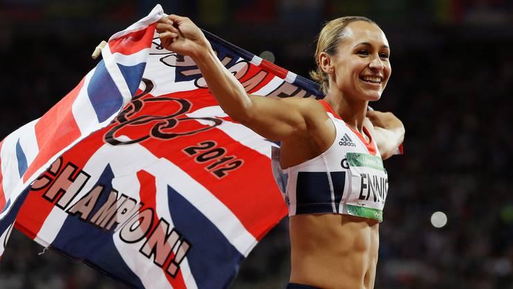 Jessica Ennis, Olympiasiegerin im Siebenkampf