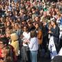 Basels Schüler beim Klimastreik: Ausländerinnen und Ausländer in der Menge mit Schweizerinnen und Schweizern – auch ausländische Staatsangehörige haben eine Meinung zu politischen Themen in Basel. (Archivbild)