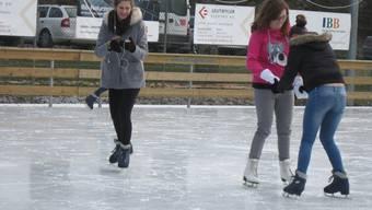 Die Eisbahn in Bad Schinznach