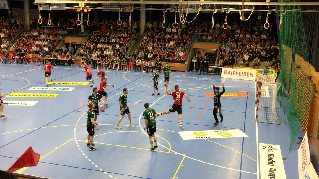 HSC Suhr Aarau – Wacker Thun 23:25: die Highlights