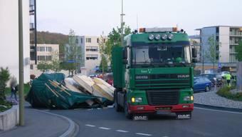 Unfall in Oberwil