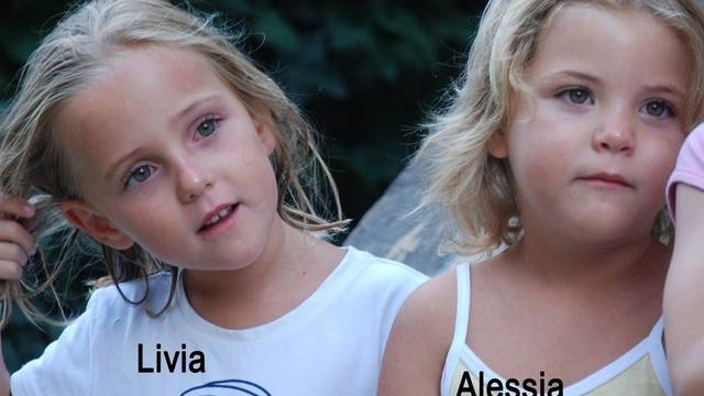 Das Rätsel um ihr Verbleiben ist noch immer ungelöst: Zwillinge Livia und Alessia (Archiv)