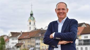 Feiert mit der FDP auch bis tief in die Nacht: Stefan Nünlist ist seit rund einem Jahr Präsident der Solothurner FDP.
