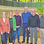 Die neu von Brugg Regio ins Leben gerufene Projektgruppe Wirtschaft besteht aus folgenden Mitgliedern (v. l.): Martin Gautschi, Ursi Sydler, Nina Müller, Dario Abbatiello, Stephan Burkart, Max Zeier, Beat Christen und Thilo Capodanno.