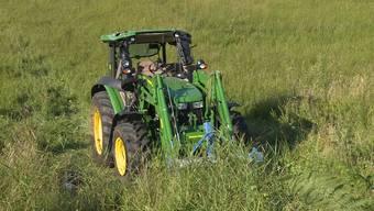 Unfall mit Traktor fordert zwei Schwerverletzte