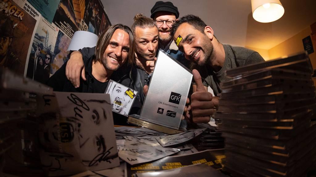 Dada Ante Portas auf Platz 1 der Albumcharts!