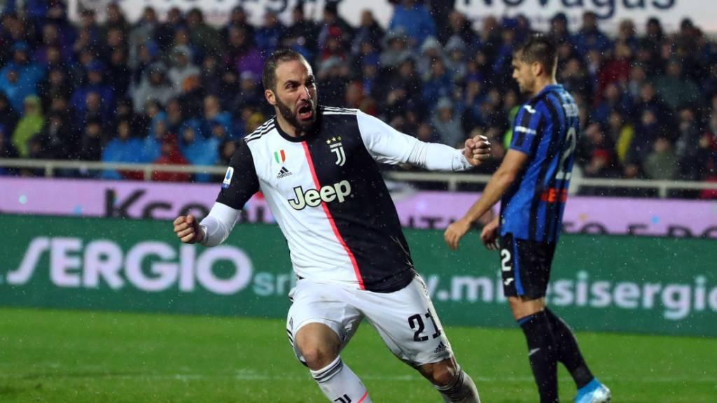 Juventus Turin siegt gegen Freulers Atalanta nach Rückstand