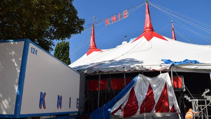 2017 gastierte der Circus Knie letztmals in der Schützi.