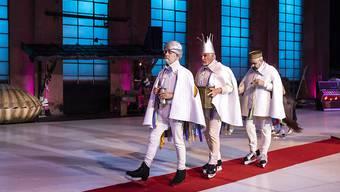 """Auftritt der drei Könige beim Freilichtspiel """"Was ihr wollt"""" in Luzern: Die diesjährige Auflage zog weniger Zuschauer an."""