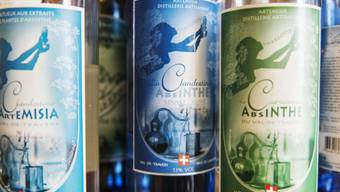 Absinth-Produkte aus dem Val-de-Travers (Archiv)