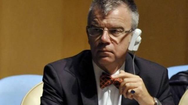Der Schweizer UNO-Botschafter Paul Seger wollte den Jahresbericht des UNO-Sicherheitsrates nicht einfach durchwinken (Archivbild).