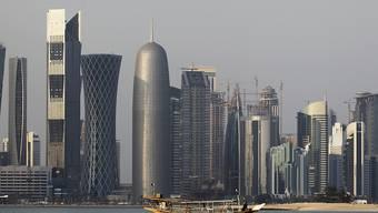 Die Katarische Regierung in Doha will Geld von Saudi-Arabien, Bahrain und den Vereinigten Arabischen Emiraten. (Archivbild)