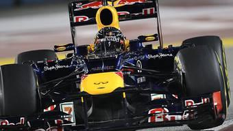 Vettel im Nachtrennen von Singapur