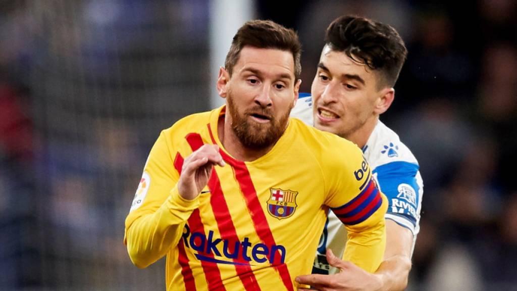 Die Fussballkünste von Lionel Messi (links) dürften schon bald wieder zu sehen sein