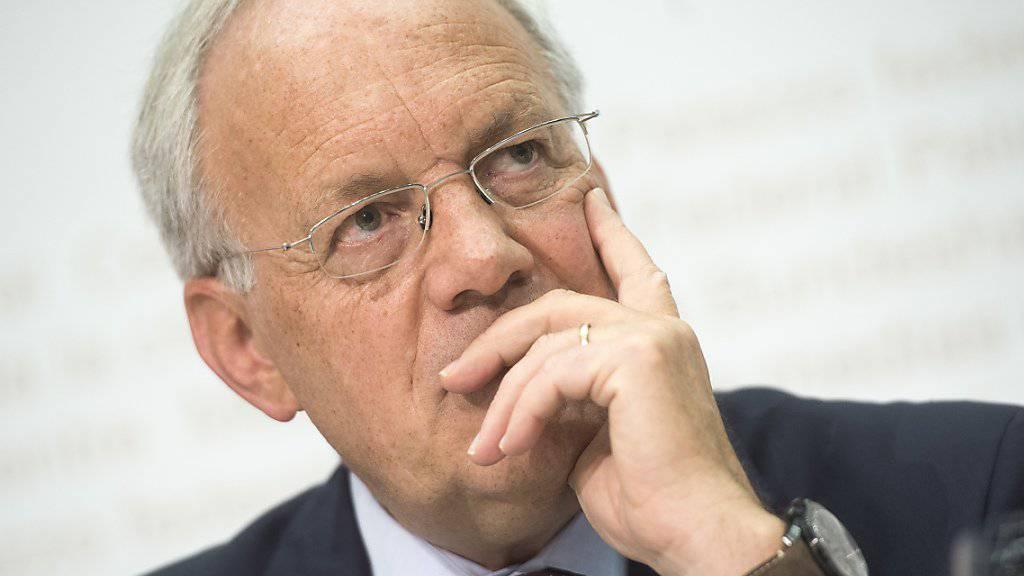 Bundesrat Johann Schneider-Ammann müsste um seine Wiederwahl zittern, würde die Schweizer Regierung vom Volk gewählt. (Archiv)