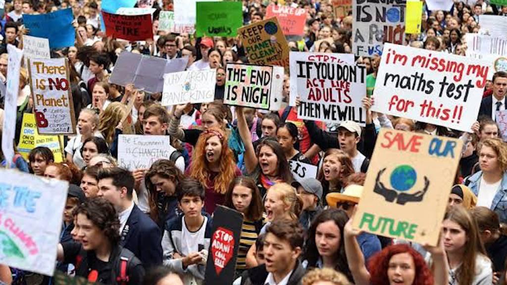 Weltweite Klimademonstrationen