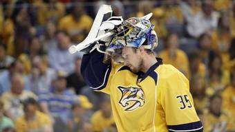 Pekka Rinne hat in Nashville Legendenstatus