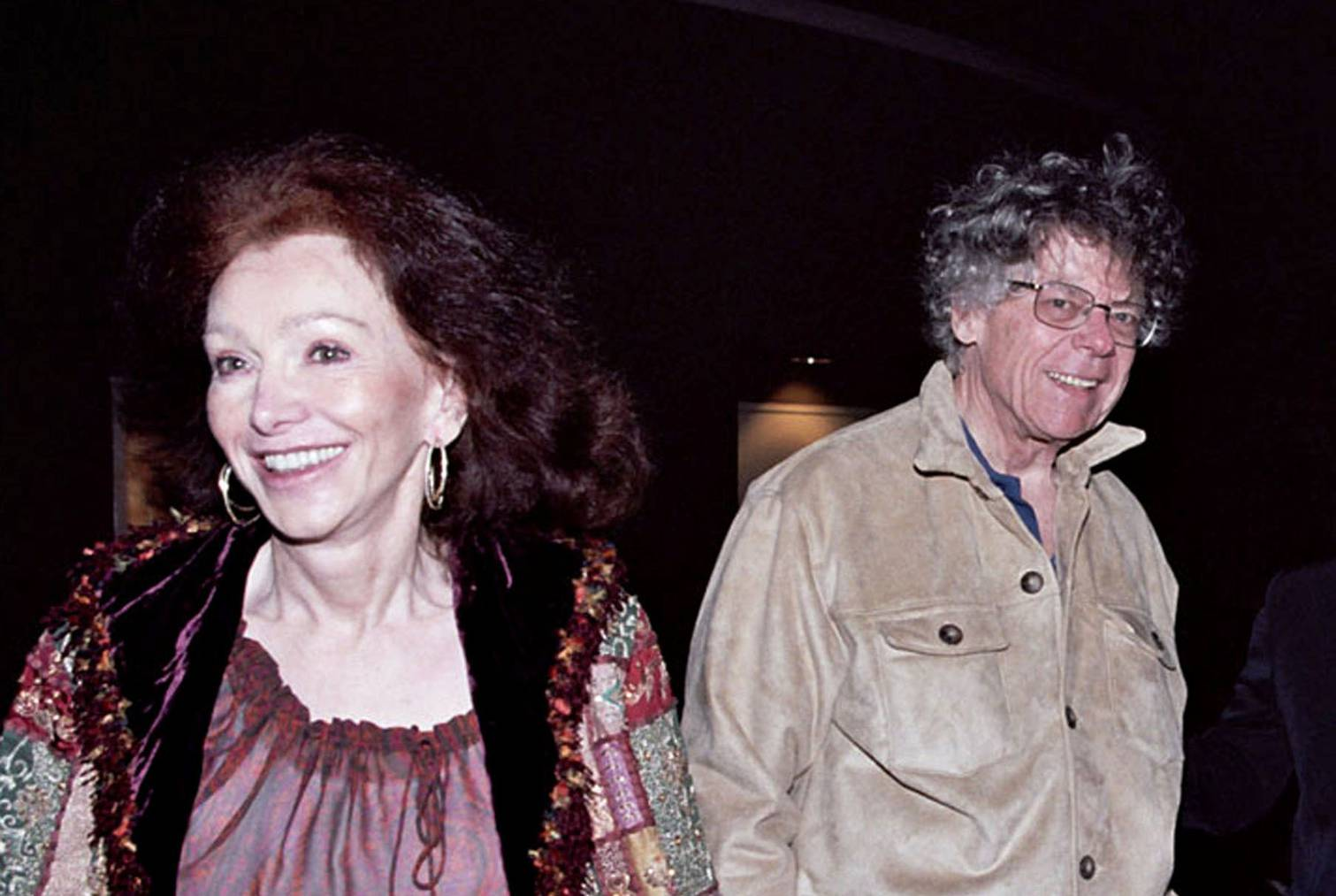 Ann und Gordon Getty im Jahr 2003 in San Francisco. (Bild: Getty Images)
